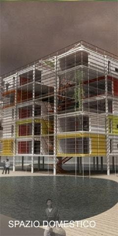 casa progetti residenziali e spazio domestico Bianchini Lusiardi architetti