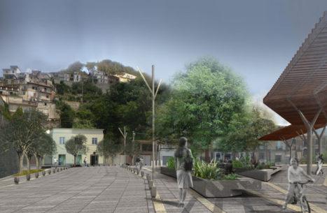 Riqualificazione centro storico San Giorgio Morgeto vista
