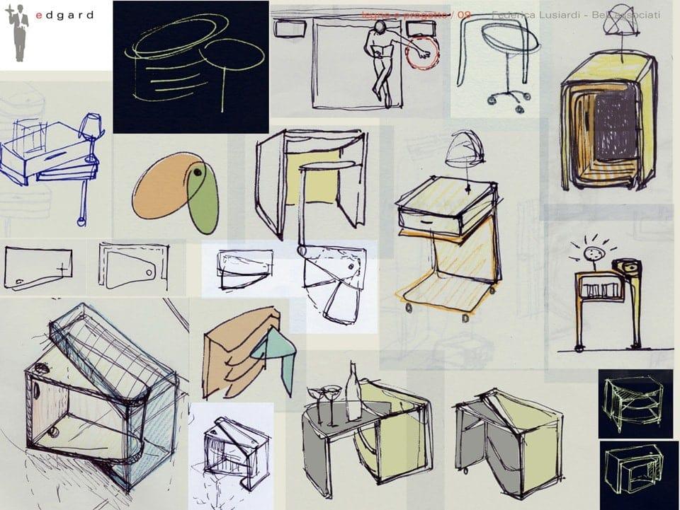 Bianchini-Lusiardi-architetti-Edgard-bedside-table-schizzi