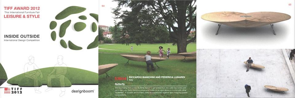 bianchini e lusiardi-TIFF-award-2012-bench-butterfly-2-designboom