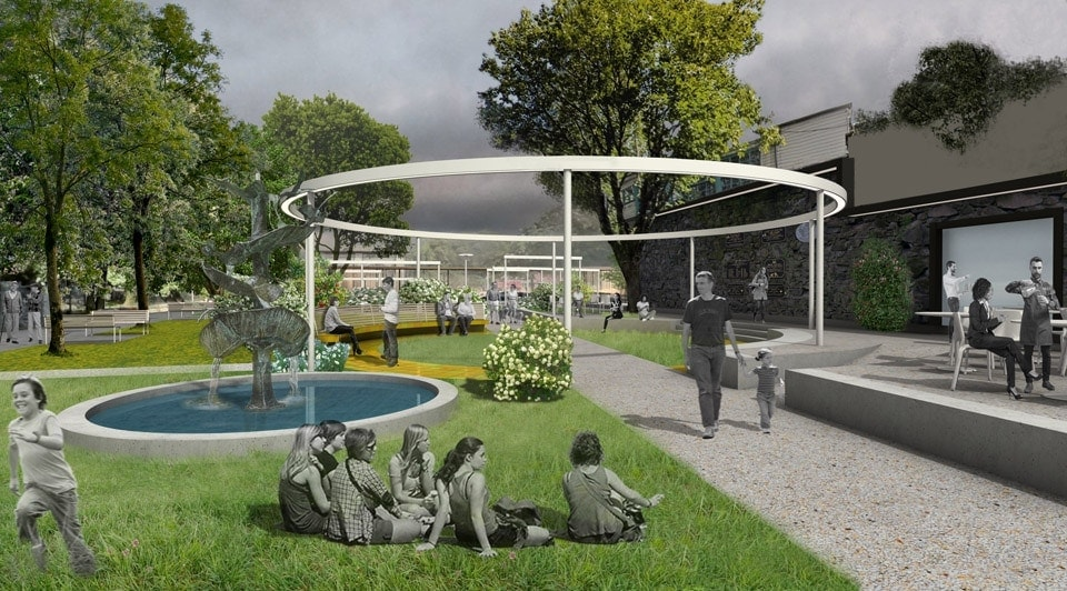 Bianchini-e-Lusiardi-associati-progetto-parco-bishop-lucey-Park-plaza